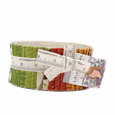 Adventures Jelly Roll by Amy Ellis for Moda