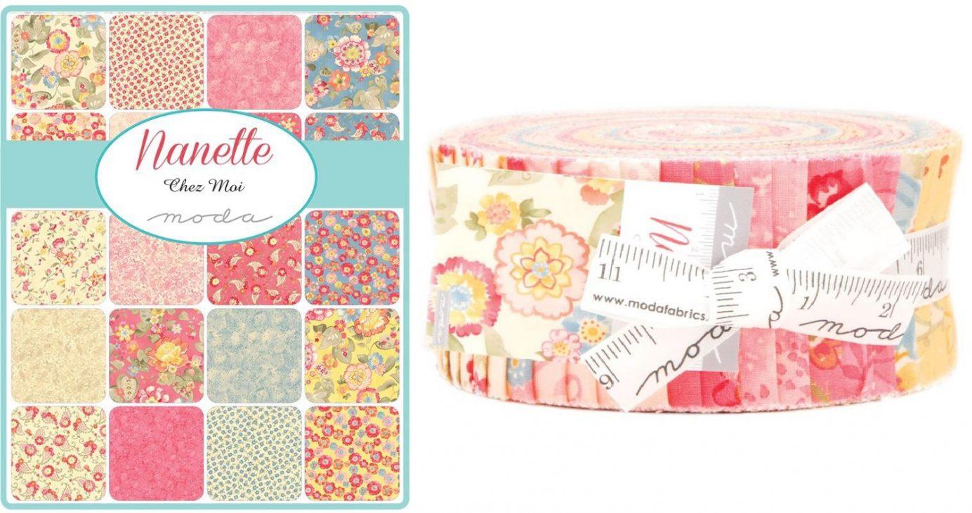 Nanette Jelly Roll Chez Moi for Moda