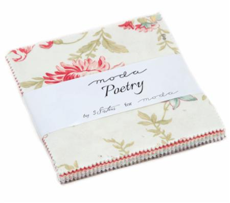 Poetry Prints Charm Pack