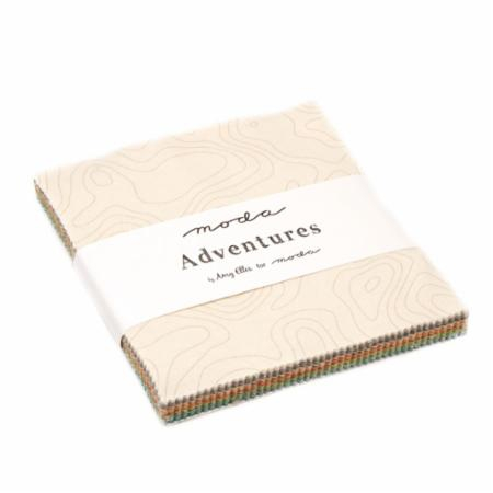 Adventures Charm Pack by Amy Ellis for Moda