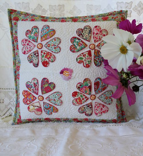 Liberty Cushion Pattern Including your Hearts